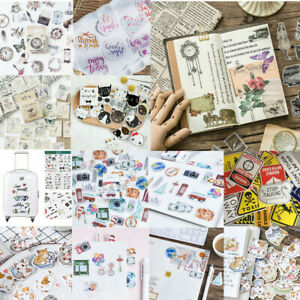 Cute-Cartoon-Paper-PVC-Stickers-DIY-Scrapbooking-Kawaii-Diary-Book-Decal-Craft