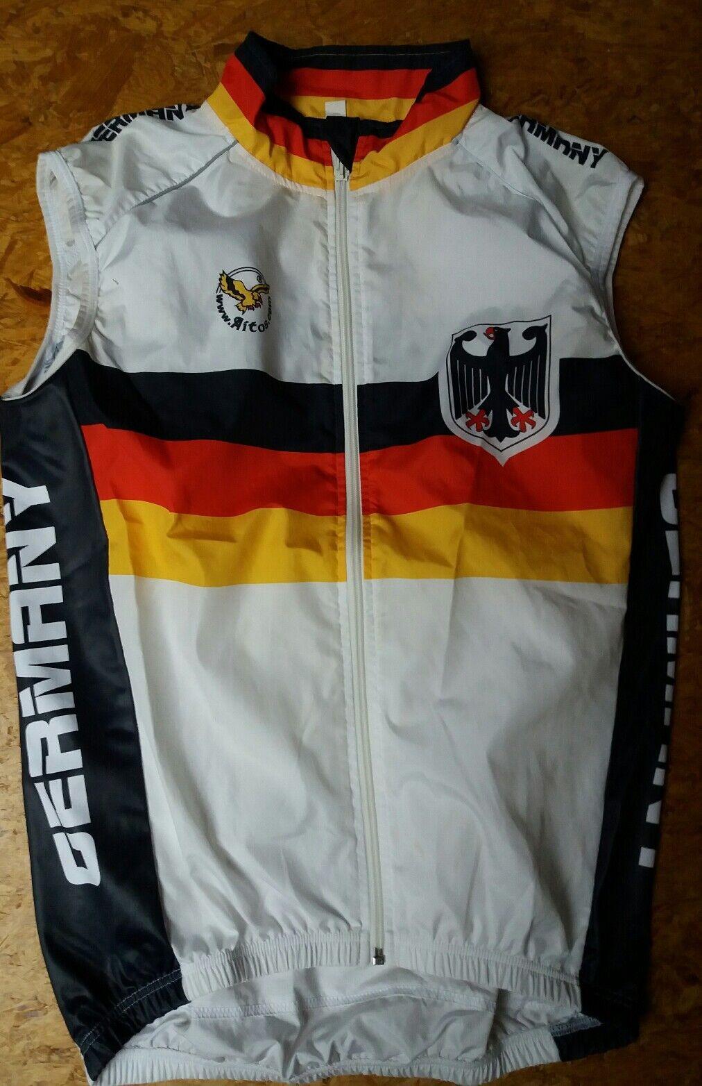 Deutschland Herren Radweste Nationalteam Gr. S Weste Germany