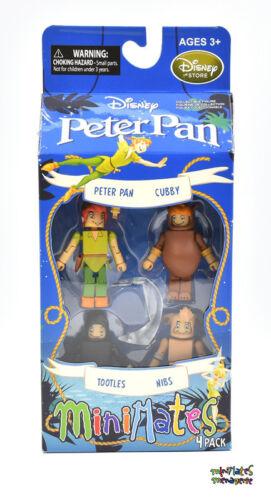 bateau pirate /& box set # 1 et 2 Disney Minimates Peter Pan Collection complète