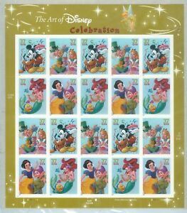 US-3912-3915-THE-ART-OF-DISNEY-20-37-CENT-STAMPS-PLATE-S-111111-UPPER-LEFT-2005