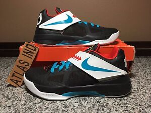 sale retailer 36ad2 c80f5 Image is loading NIKE-ZOOM-KD-IV-4-N7-5-6-