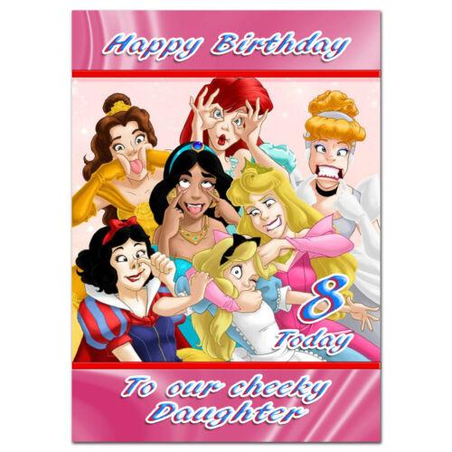 681; carte de vœux personnalisée A5; Cheeky Princesses; Best Special super petit