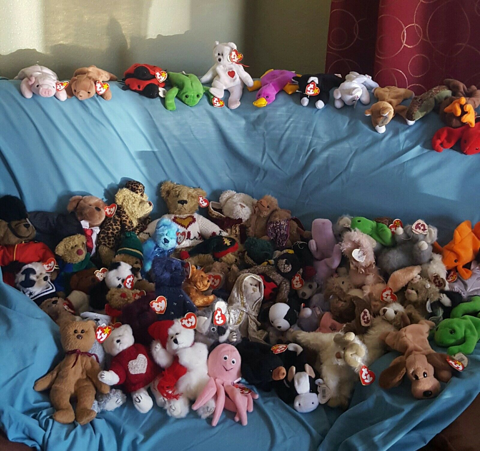 1993 Ty Beanie Babies Rare And Retired