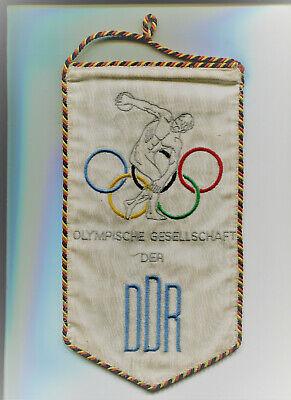 Trendmarkierung Großer Wimpel Olympische Gesellschaft Der Ddr Gestickt