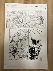 Original-Comic-Art-Star-Wars-Legacy-Issue-42-Pencil-amp-Ink-Dan-Parsons-Dave-Ross