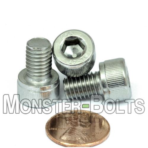 M8-1.25 x 14mm Stainless Steel Socket Head Caps Screws Metric DIN 912 A2 Coarse
