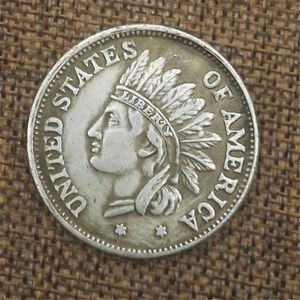 1851-United-States-of-America-Indian-Head-Portrait-Commemorative-Coin-Collection