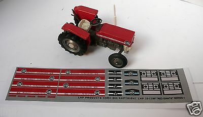 BRITAINS MASSEY FERGUSON 1/32 100 SERIES 135 CONVERSION TRANSFERS LHP HD803