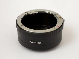 Anello-conversione-adattatore-Corpo-Sony-E-NEX-Ottica-Pentax-K