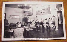 1940's Makawao Maui USO Ethel Baldwin Club Rodeo Casanova WWII TH Hawaii RPPC