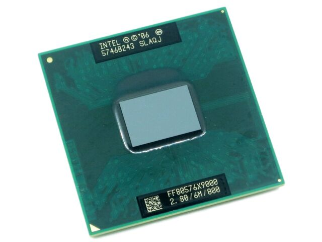 Intel Core 2 Duo Extreme X9000 SLAQJ SLAZ3 2.8GHz Dual-Core 6MB CPU Processor