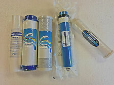5 Stage Reverse Osmosis Replacement Water Filter Kit with 75 GPD Membrane