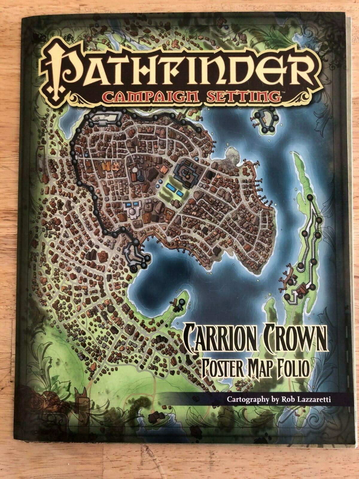 Pathfinder Inner Sea Poster Map Folio Pzo9228 For Sale Online Ebay