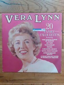 Vera-Lynn-20-Family-Favourites-EMI-EMTV-28-Vinyl-LP-Compilation-Stereo