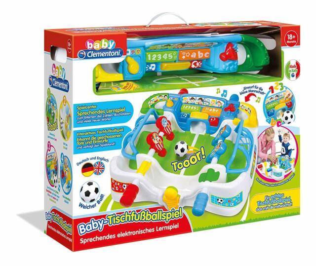 Clementoni Baby-Tischfußballspiel (59003) à partir de 18 Mois Balle