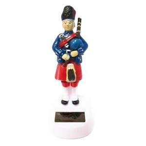 Solar Pals Scottish Piper Desk Toy Novelty Figurine - New - FF83