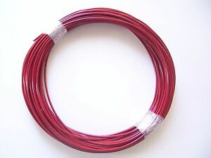 RED Vinyl Coated Wire Rope Cable,1/16 - 3/32, 7x7, 50 ft Coil | eBay