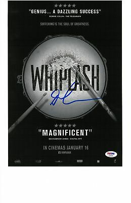 Autographs-original Movies Enthusiastic Damien Chazelle Signed Whiplash Autographed 11x14 Photo Psa/dna #ae99630 To Adopt Advanced Technology