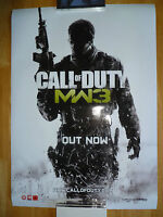 RARE - CALL OF DUTY - MODERN WARFARE 3 - OFFICIAL GAME PROMO POSTER