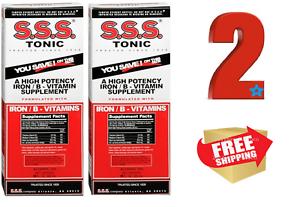 S.S.S. Tonic Liquid 10 oz a High Potency Iron / B Vitamin Supplement