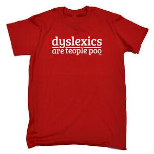 Drole-Nouveaute-T-shirt-homme-tee-tshirt-DYSLEXIQUES-SONT-TEOPLE-POO