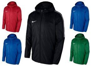 Détails sur Nike Garçon Enfants sec Park 18 Pluie Veste Coupe vent Imperméable Imperméable à Capuche afficher le titre d'origine