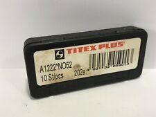 Titex Plus Drills A1222 N052 202e 10pcs