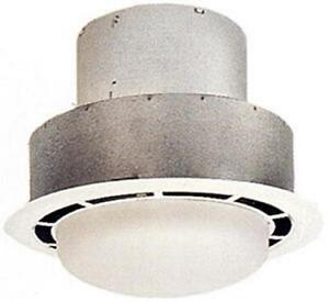 Mobile Home Trailer 115V Bathroom Ceiling W Light Exhaust Fan 100 CFM V2244 1