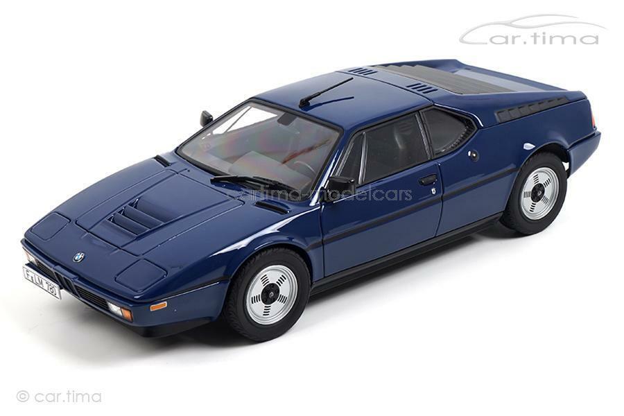 BMW m1 1980-bluee-Norev 1 18 - 183224