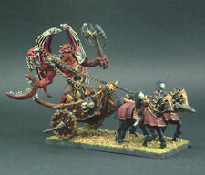 TMC Painted Warhammer Chaos METAL Chaos Prince Demon on Chariot & Foot