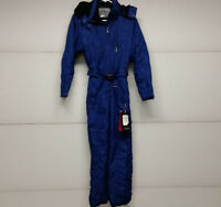 Couloir Womens Blue Ski Suit 1-piece Snowboard Size 4 Free Shipping