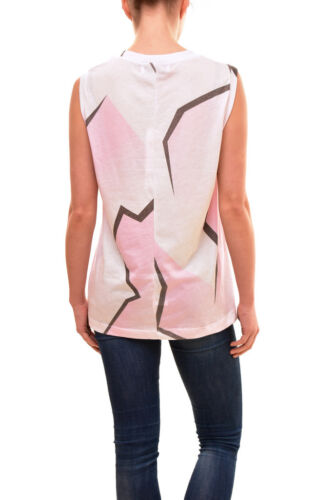 Sleeveless £81 Rrp Shirt S Aftershock Size Women's Wildfox Bcf83 Authentic Pink A1xBwqtWzR