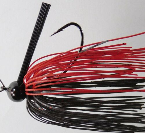 Bob4Bass Pro Series Football Skirted Football Jig 23 Black colors to choose from