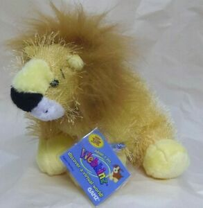 Lion-full-size-9in-Webkinz-interactive-pet-cat-with-sealed-unused-code-HM006