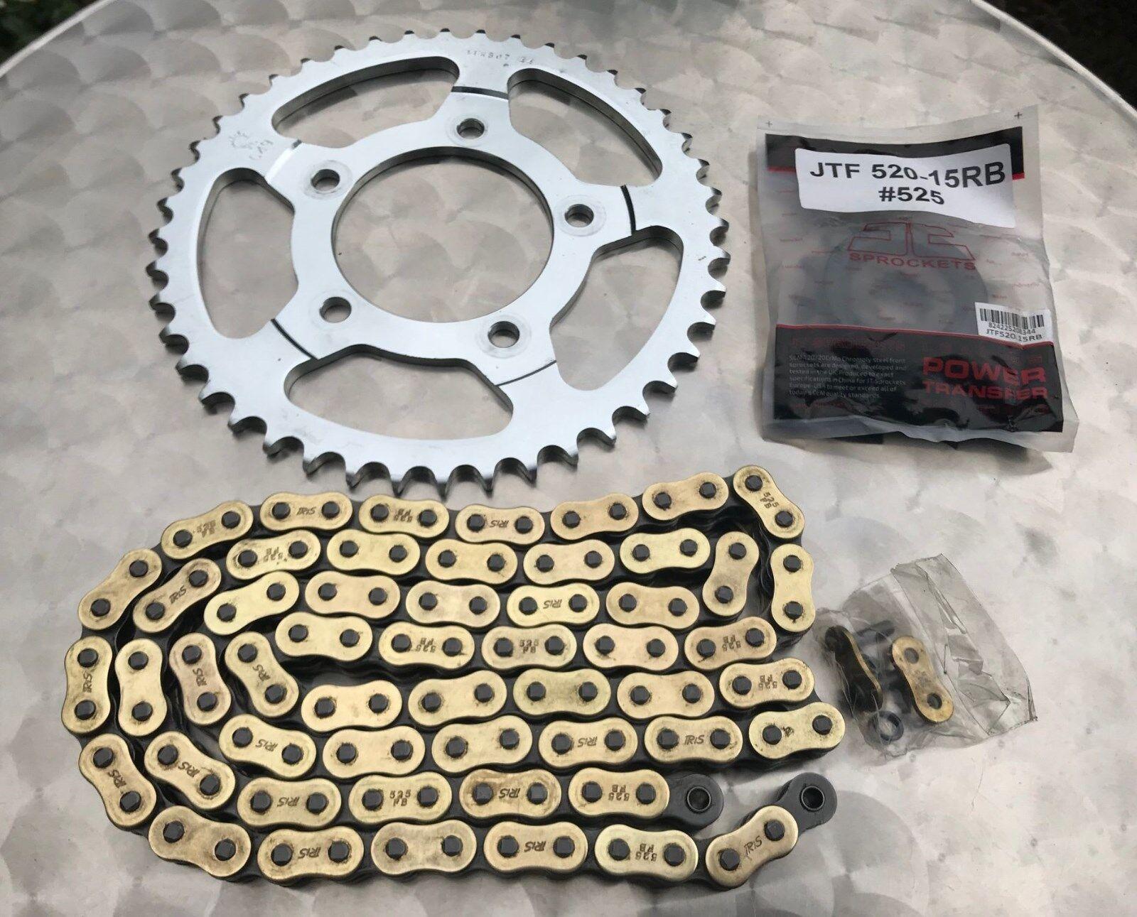 DID Kettensatz Stahl SUZUKI SV650S 99-06 X-Ring Kette