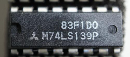 Mitsubishi M74LS139P  Qty 1  dip16          Ships  in USA Tomorrow!