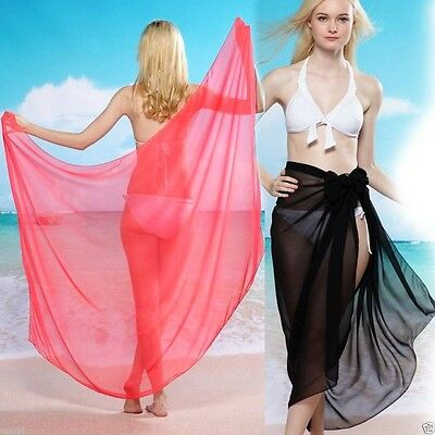 Sexy Women 1pcs 3in1 Strap Bikini Cover Up Maxi Dress swimming Swim Beach Skirt