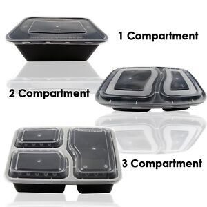 Image Is Loading 1 2 3 Compartment Microwave Dishwasher Safe Meal