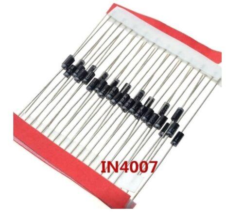 10X DIODI 1N4007 4007   Rectifier Diode 1A 1000V M7 raddrizzatore