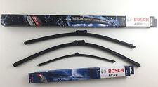 Bosch Scheibenwischer Wischerblätter vorne links + rechts + hinten Opel Meriva B
