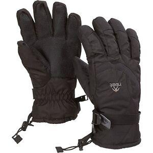 New Gordini Men's Heat Gauntlet Waterproof Ski Winter Gloves Black, S-XL