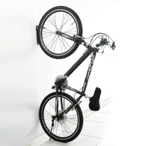 2PC Bicycle Bike Cycling Wall Mount Hook Hanger Garage Storage Holder Rack Stand