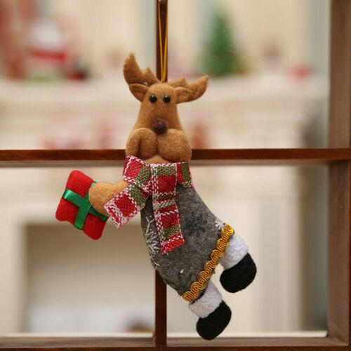 Christmas Gift Santa Claus Snowman Ornament Festival Party Xmas Tree Decor Doll