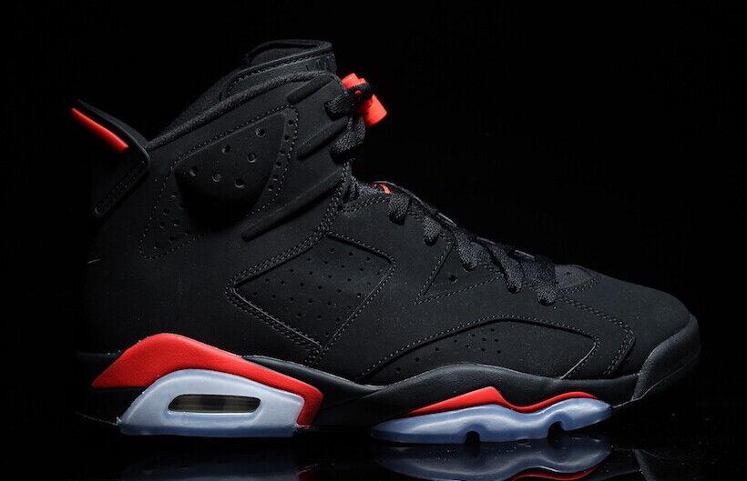 2019 Nike Air Jordan 6 VI Retro Infrared 4c-14 Black 384664-060