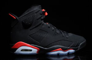 c7eac35941e9aa 2019 Nike Air Jordan 6 VI Retro Infrared 4c-14 Black 384664-060
