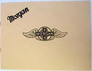 MORGAN-Plus-4-1954-2-4-Seater-Tourer-DHC-Original-Car-Sales-Brochure