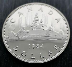 CANADA-DOLLAR-1984-PROOF-HEAVY-CAMEO