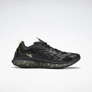 Reebok Hommes Zig Kinetica 21 Léger Et Respirant Chaussures Noir