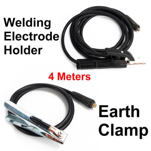 Earth Clamp 4 Meter For Welder MMA//ARC Equipment 300A Welding Electrode Holder