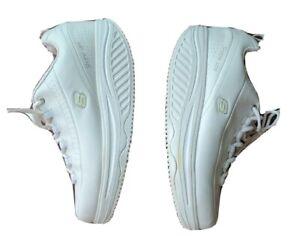 Skechers-Work-Womens-Shape-Ups-Resistant-Slip-Shoes-White-Size-8-5-SN-76428